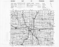 Freeborn County Highway Map, Freeborn County 1965
